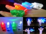 Finger LED Laser Beam Light