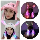 Bunny Hat Rabbit Led Topi Kelinci Nyala Led Korea Kpop